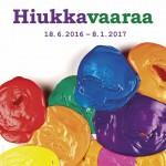Hiukkavaaraa näyttely avataan Oulun taidemuseolla 17.6.2016 klo 17, tervetuloa!