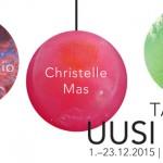 Uusi muoto -taidekauppa 23.12.2015 saakka Oulussa