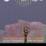 Kuvittele elämä Galleria Huudossa 22.8 - 7.9.2014